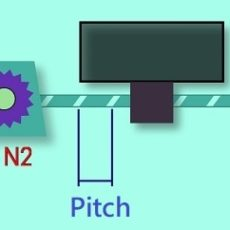 Electronic Gear Ratio (on-line) Calculator – Ball Screw