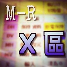 M-R 記憶體-X分區 說明