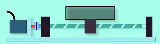 螺杆机构图
